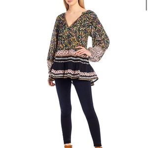 Free People Gardenia Tunic Medium NWT